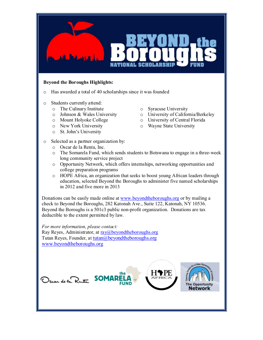 Beyond The Boroughs Marketing Piece 2